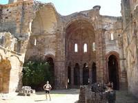 église typique de santiago de compostela